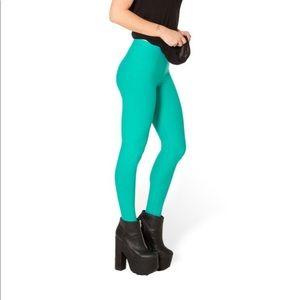 BlackMilk Matte Jade leggings - Size Small